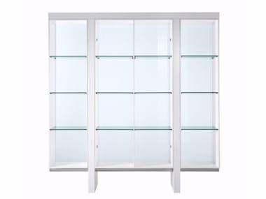 Open glass office shelving TAU | Office shelving