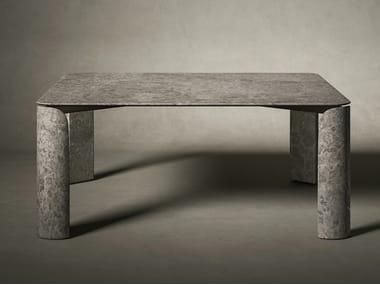 Table carrée en marbre TAULA | Table carrée
