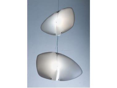 Compact fluorescent polypropylene pendant lamp TAVOLA