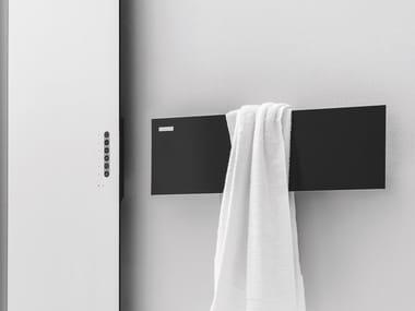 Sèche serviettes mural en aluminium TAVOLETTA
