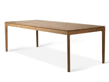 Rectangular teak dining table TEAK BOK | Table