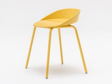 Chaise en polyuréthane TEAM | Chaise