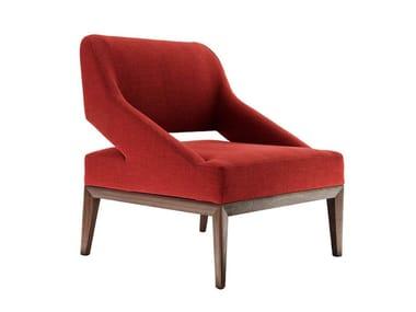 Fabric armchair TEATRO | Armchair