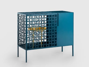 Metal bar cabinet TECA BAR