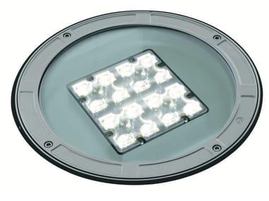 Segnapasso a LED a pavimento in alluminio pressofuso TECH F.1076