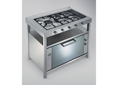 Stainless steel cooker TECNE | Cooker