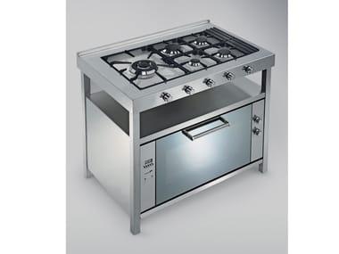 Küchenherd aus Edelstahl TECNE | Küchenherd