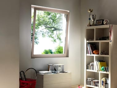 Aluminium top-hung window TECNO | Top-hung window