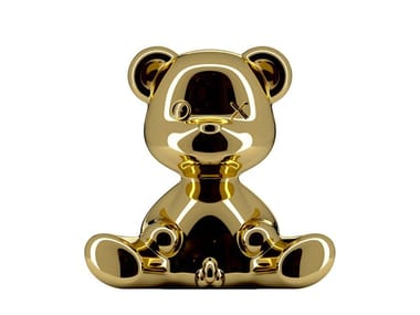 Polyethylene table lamp TEDDY BOY METAL | Table lamp