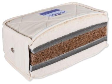 Washable natural fibre mattress TEEN NATURAL