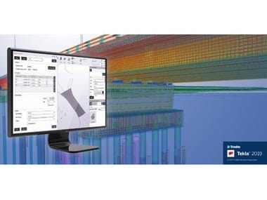 CAD-integrated structural calculation software TEKLA STRUCTURES 2019