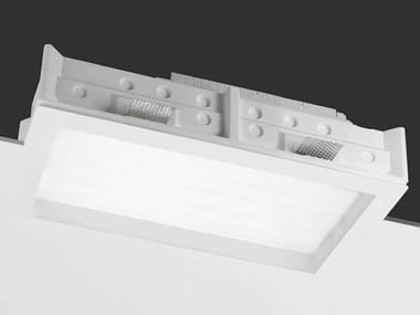 Recessed Coral® ceiling lamp TEKNO