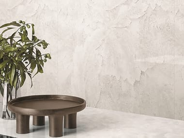 Porcelain stoneware wall/floor tiles with marble effect TELE DI MARMO REVOLUTION THASSOS