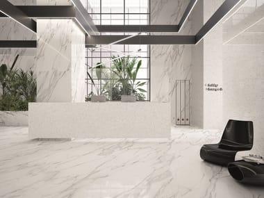 Indoor wall/floor tiles with marble effect TELE DI MARMO STATUARIO MICHELANGELO