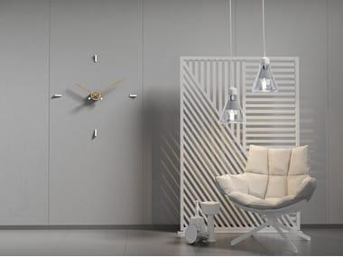 Relógio de metal de parede TEMPO 4-80