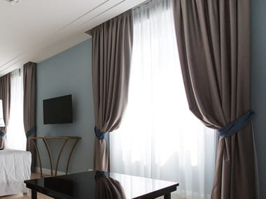 Solid-color fabric for curtains TENDAGGI