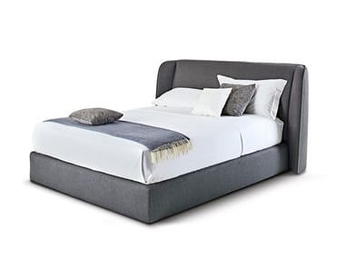 Upholstered fabric storage bed TENDER