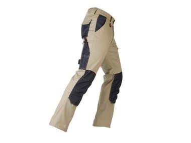 Pantalone elastizzato TENERE PRO BEIGE/BLU