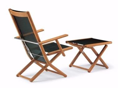 Recliner Garden Chair With Armrests TENNIS | Recliner Chair