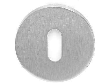 Round stainless steel keyhole escutcheon TENSE - BBN53