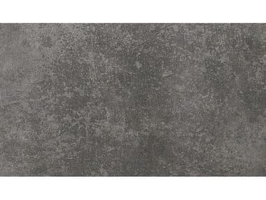 Gres porcellanato effetto pietra TEQA | ANTRACITE