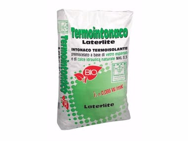 Thermal insulating plaster LATERLITE THERMAL INSULATING PLASTER | Hydraulic and hydrated lime based plaster