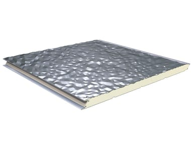 Insulated metal panel for facade TERMOPARETI ® CAOS