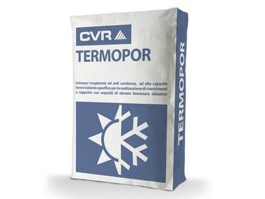 Intonaco termoisolante TERMOPOR