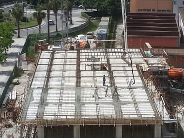 Insulating formwork for reinforced concrete slabs TERMOSOLAIO