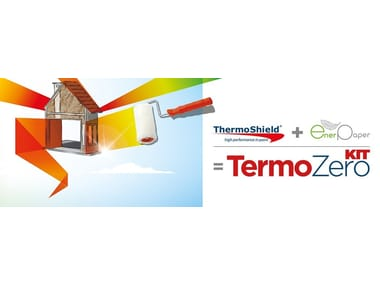 Cork, cellulose and loose vegetable-based insulation TERMOZERO KIT   Cork, cellulose and loose vegetable-based insulation