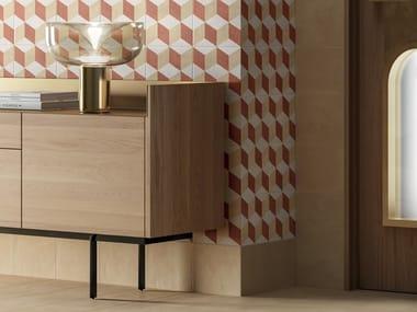 Pavimento/rivestimento in gres porcellanato per interni TERRA.ART CREMA