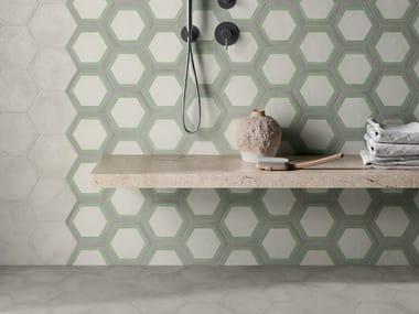 Pavimento/rivestimento in gres porcellanato per interni TERRA.ART SABBIA