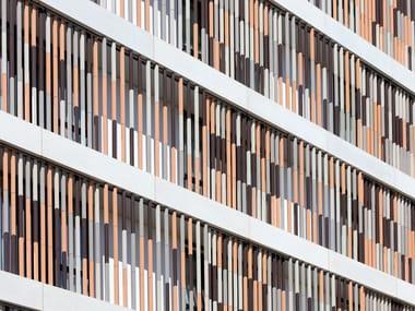 Terracotta Ventilated facade TERRART®- BAGUETTE