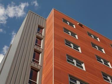 Terracotta Ventilated facade TERRART®-LIGHT