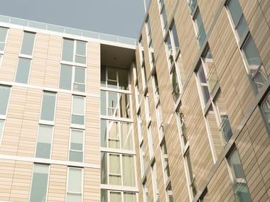 Terracotta Ventilated facade TERRART®-SOLID