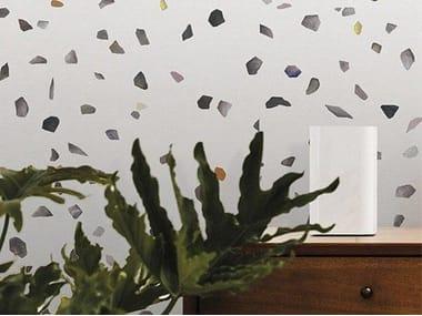 Motif non-woven paper wallpaper TERRAZZO L