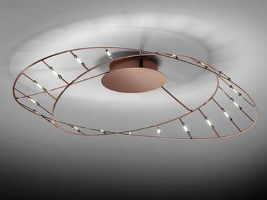LED steel ceiling lamp TESA MINI | Ceiling lamp