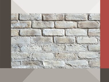 Rivestimento di facciata in mattone ricostruito TESIO MR04 TERRAKOTTA