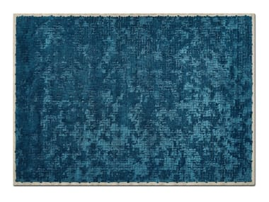 Handmade rectangular custom rug TESSERE