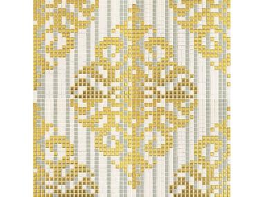 Mosaico in ceramica TESSUTO BAROCCO 001