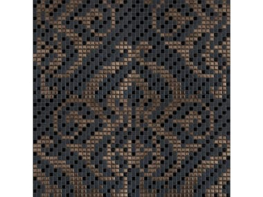 Mosaico in ceramica TESSUTO REALE 001