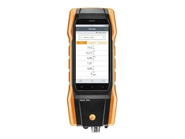 Measurement, control, thermographic and infrared instruments TESTO 300