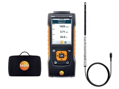 Measurement, control, thermographic and infrared instruments TESTO 440