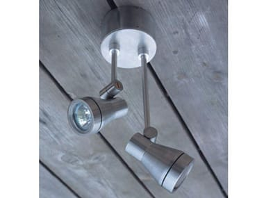Proyector de exterior / bolardo luminoso de acero inoxidable TEX BIS DL