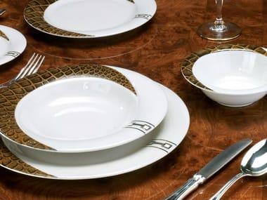Porcelain plates set TEXAS | Plates set