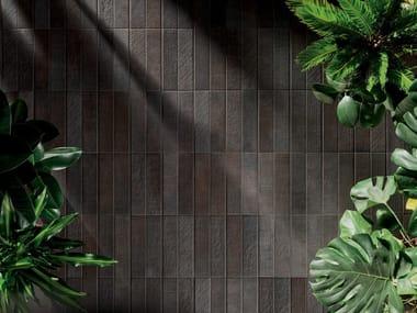 Pavimento/rivestimento in ceramica TEXTILE DARK