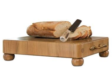 Tagliere rettangolare in legno massello con manico TGL008 | Tagliere
