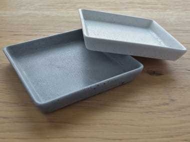 Square concrete tray TRAY - ANGULAR