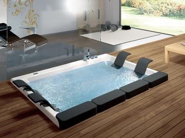 2 seater whirlpool built-in bathtub THAIS