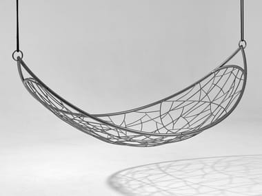 2 Seater powder coated steel hammock THE MELON